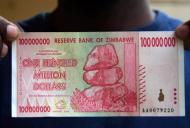 Zimbabwe 100 million AFP