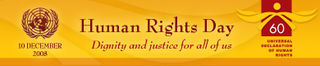 UN Human Rights day banner