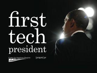 Obama tech president