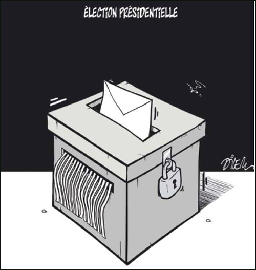 Dilem ballot box