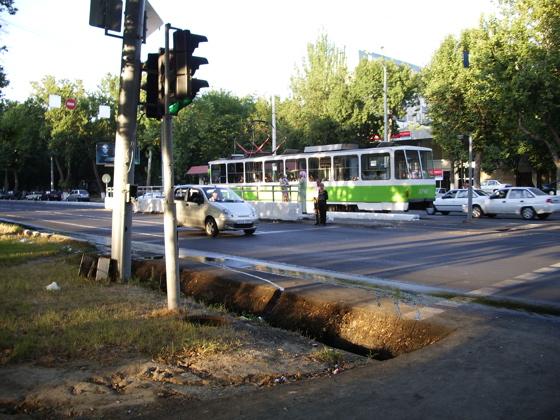 Uzbek tram