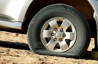 Tyre-weld-flat
