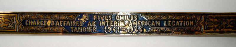TALIM Rives Childs Chargé