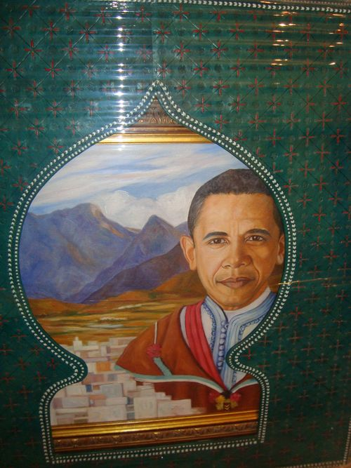 TALIM Obama El Moujahid closeup