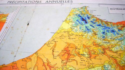 TALIM Precipitations annuelles nord