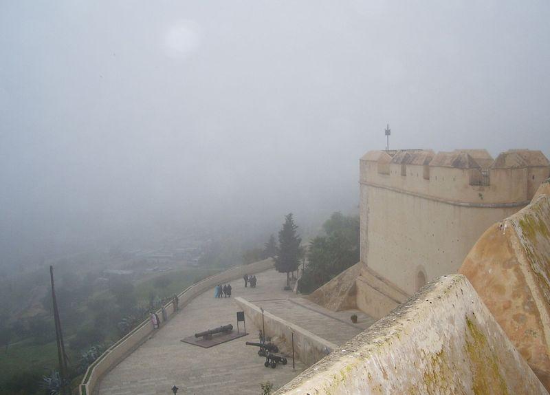 TALIM Fez Borj Nord in fog