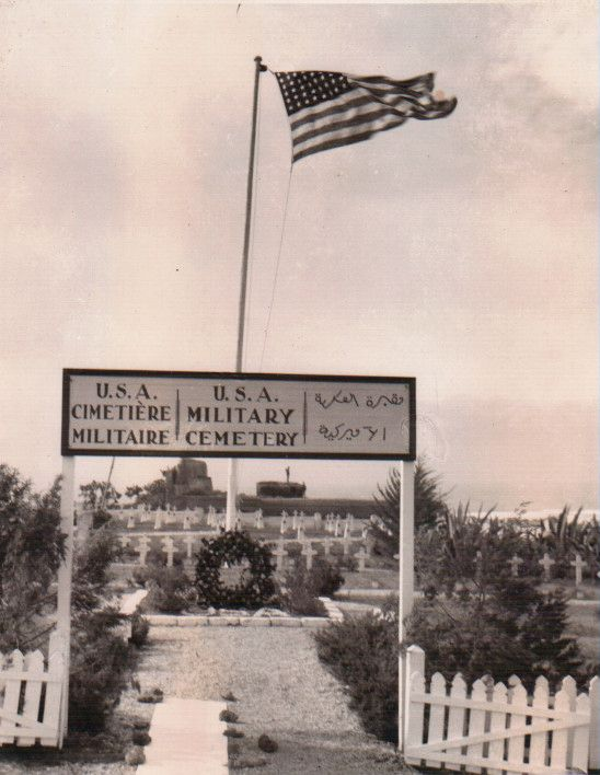 TALIM Operation Torch US Military Cemetery