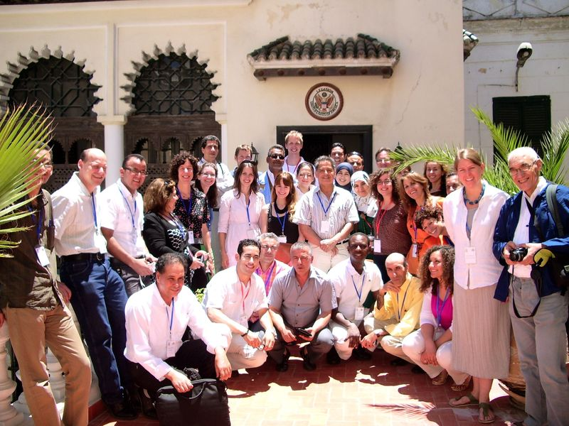 TALIM AIMS Berber conference Pavilion