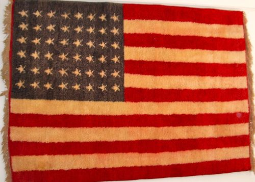 TALIM US 48 star Carpet Flag