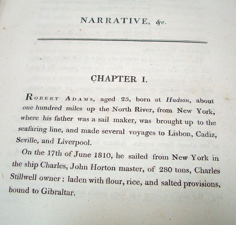 TALIM Robert Adams Narrative Chapter 1