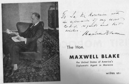TALIM Maxwell Blake La Vie Marocaine