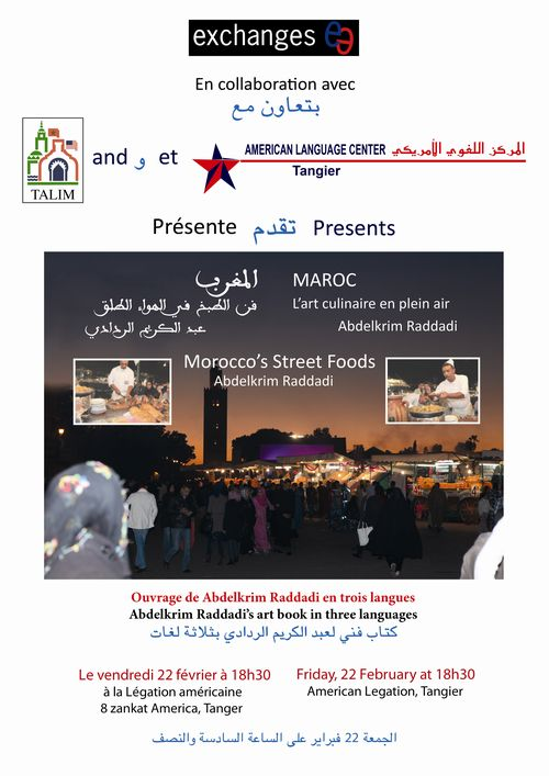 TALIM Affiche Street Food final