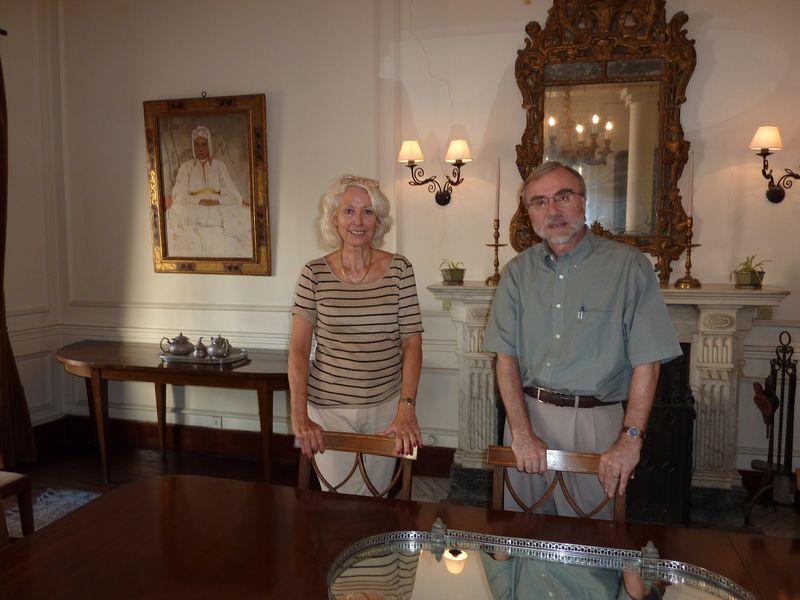 TALIM Anne Deysine visit