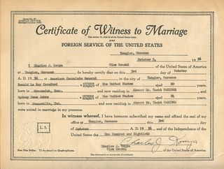 TALIM Crawford CertMarriage