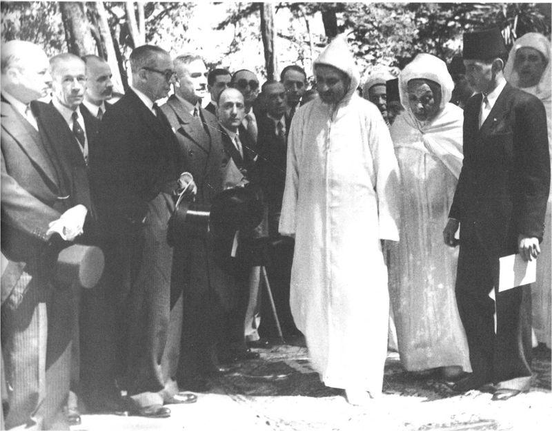 TALIM Mohamed V Mendoubia 9 April 1947