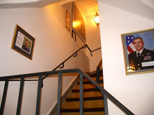 TALIM Moroccans in America staircase