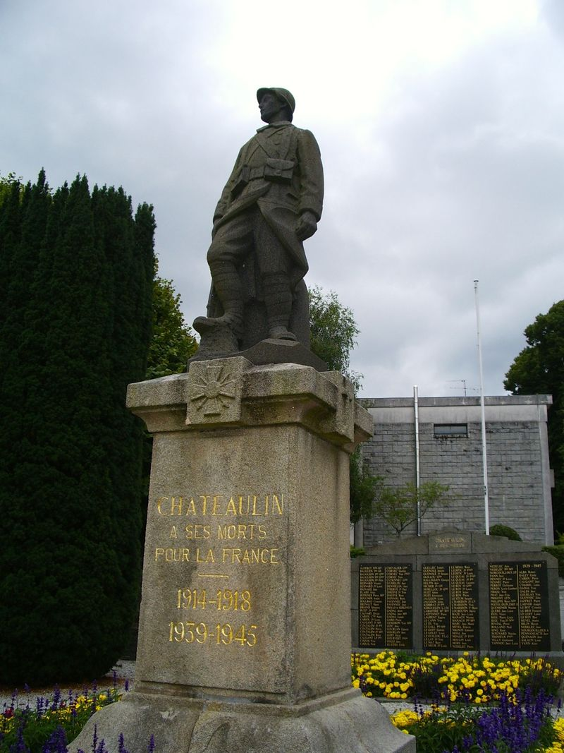 AA Chateaulin WW I 1 August 2014