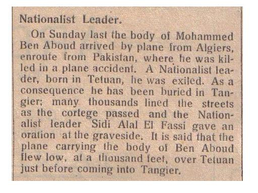 TALIM Mohammed Ben Abboud Nationalist_Leader