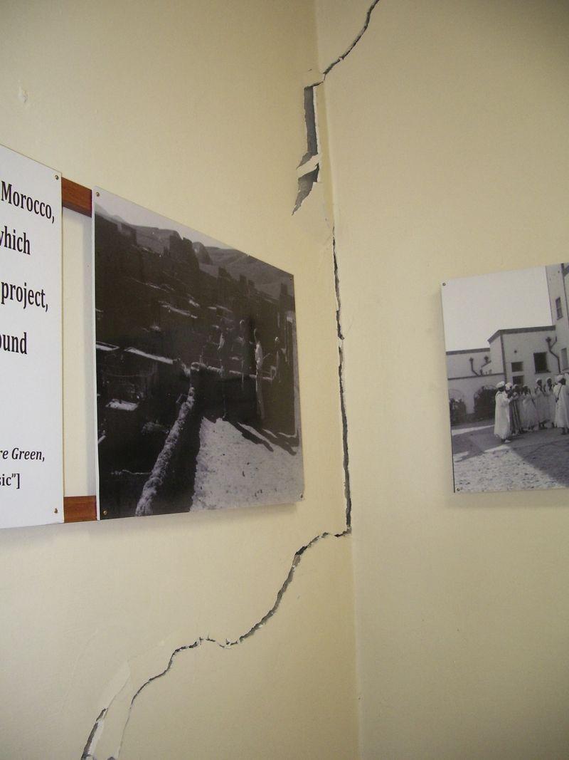 TALIM Pavilion Bowles structural fissure