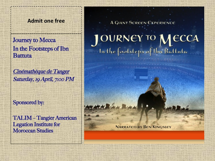 TALIM Journey to Mecca pass