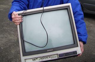 AA Sharp TV - 1