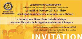 TALIM Rotary invite