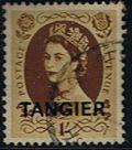 TALIM stamp morocco-agencies-tangier-1952