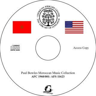 TALIM Paul Bowles CD Moroccan music 11623 Donut Proof