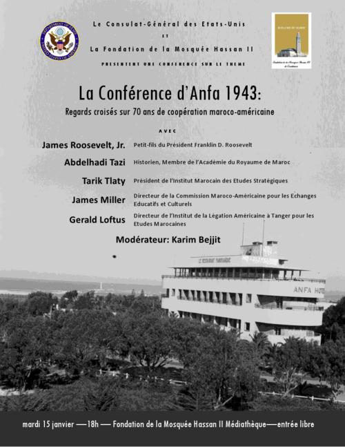 TALIM Anfa poster