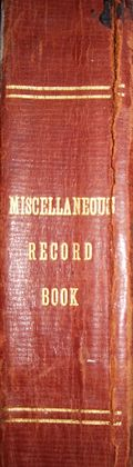 TALIM Miscellaneous Record Book