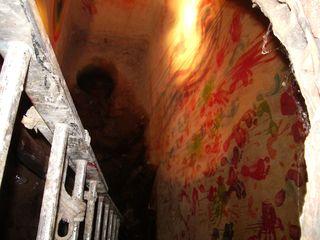 TALIM Cistern Chapel and ladder