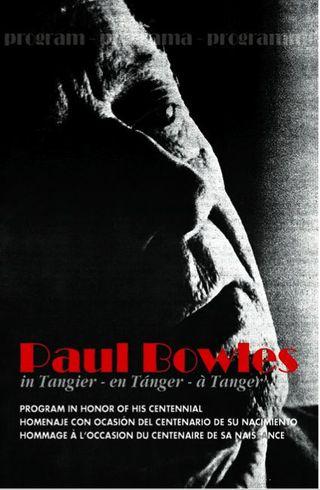 TALIM cover programa homenaje P. Bowles