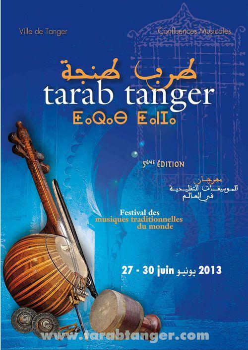 TALIM Tarab Tanger 2013 affiche