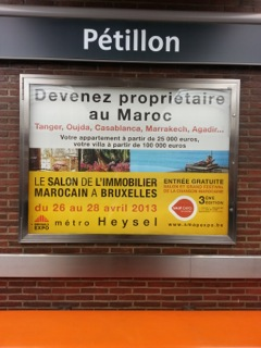 TALIM Tangier in Brussels metro