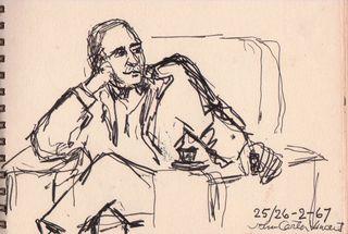 TALIM John Carter Vincent by Marguerite McBey