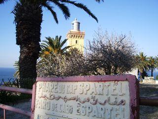 TALIM Cap Spartel w sign