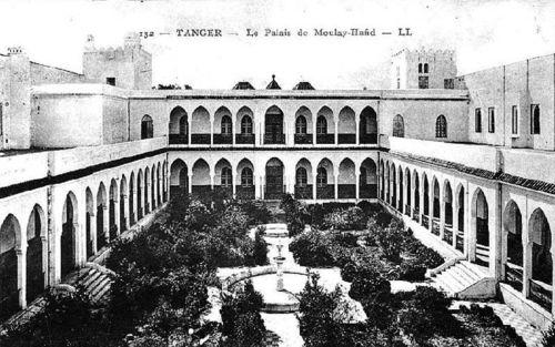 TALIM Palais Moulay Hafid carte postale