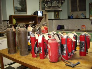 TALIM Fire extinguishers