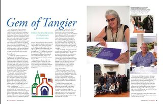 TALIM State Magazine Gem of Tangier