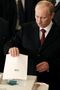 Putin voting Daily Mail